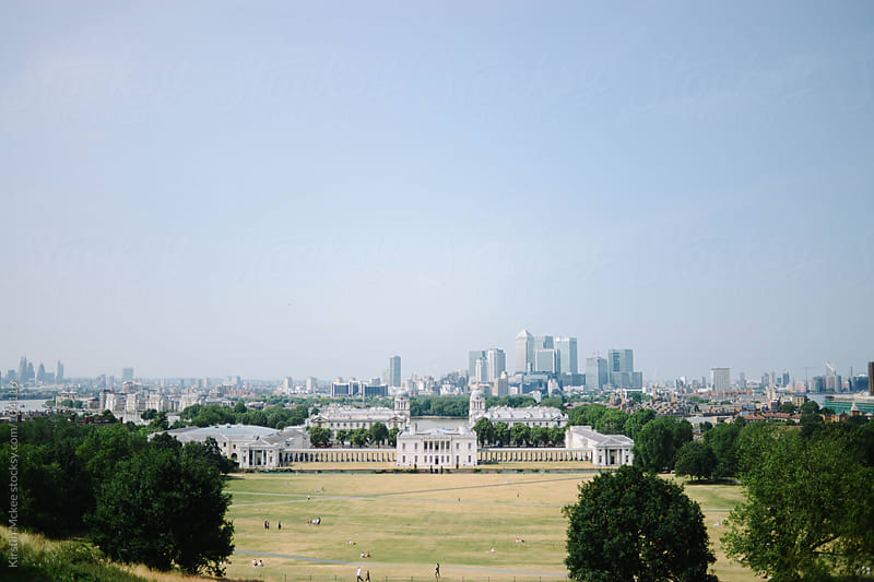 View of London from Greenwich Park by Kirstin Mckee for Stocksy United