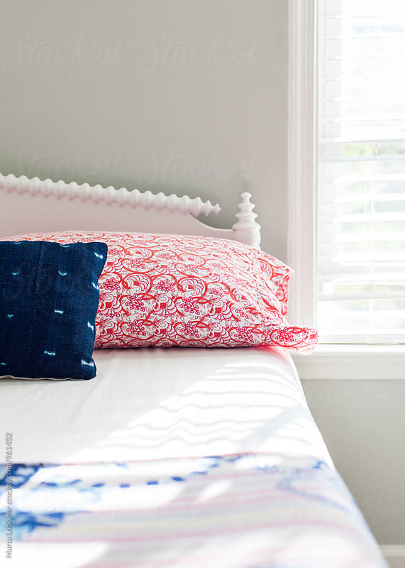 Teen bedroom details in Boho style by Marta Locklear for Stocksy United