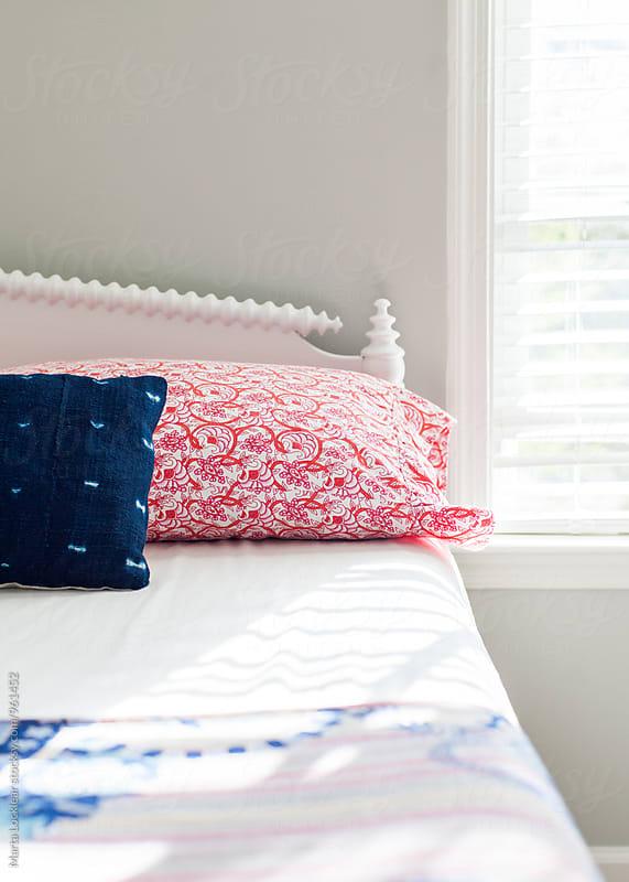 Teen bedroom details in Boho style by Marta Locklear for Stocksy United