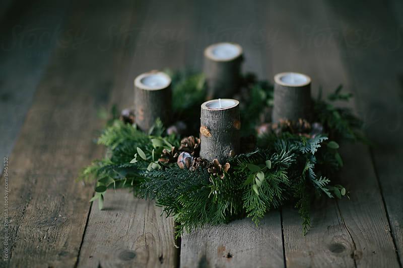 Advent wreath by Török-Bognár Renáta for Stocksy United
