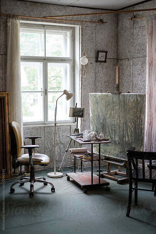 Artist's Studio by Aleksandra Jankovic for Stocksy United