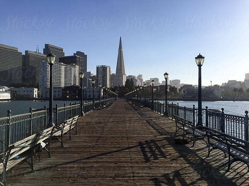San Francisco Pier by Tommaso Tuzj for Stocksy United