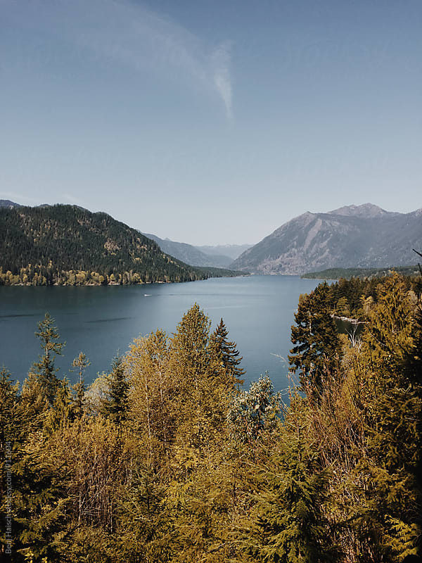 Lake Views in the Pacific Northwest by Benj Haisch for Stocksy United