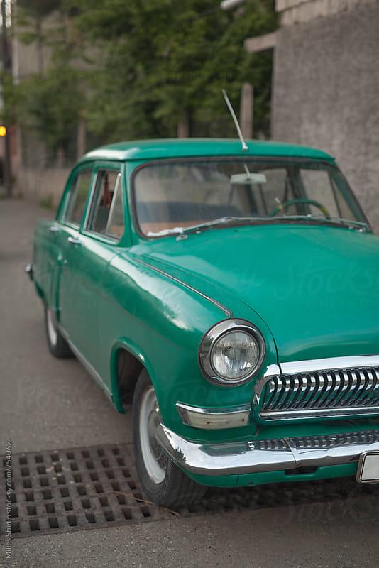 Retro car by Milles Studio for Stocksy United