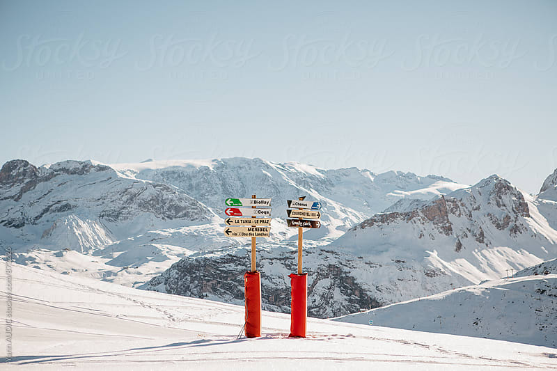 Courchevel, French Alps, France by Yann AUDIC for Stocksy United