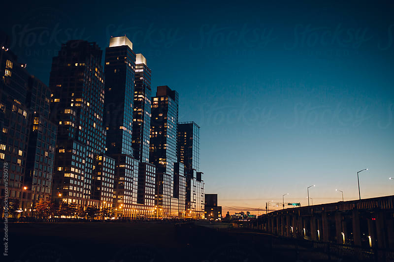 Sunset Skyscraper by Freek Zonderland for Stocksy United