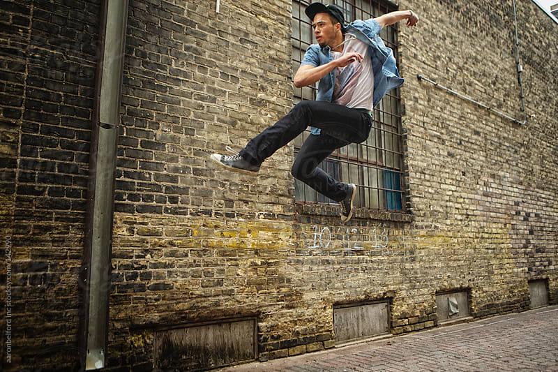 Wall Jump by aaronbelford inc for Stocksy United