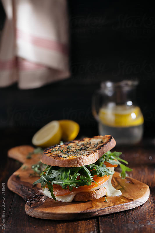 Vegetarian Sandwich by Davide Illini for Stocksy United
