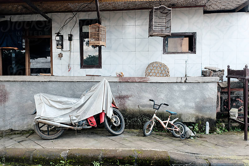 Front Porch of a Balinese House by Gary Radler Photography for Stocksy United