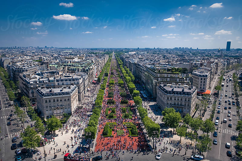 Champs Elysées by Nicolas Cazard for Stocksy United