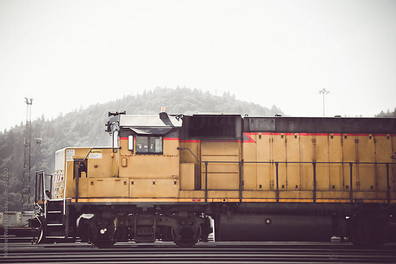 Yellow Train by Kristine Weilert for Stocksy United