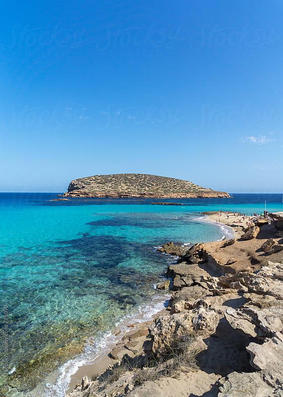 Island in the Mediterranean Sea by ACALU Studio for Stocksy United