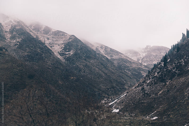 Mountain landscape by Andrey Pavlov for Stocksy United