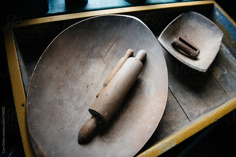 Antique kitchen tools by Cara Dolan for Stocksy United