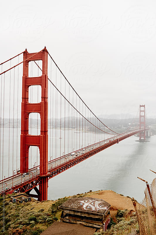 Golden Gate Bridge by Adam Naples for Stocksy United