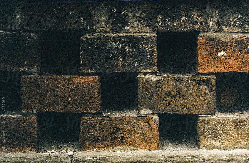 block, brick, gap by Nemanja Jovanovic for Stocksy United
