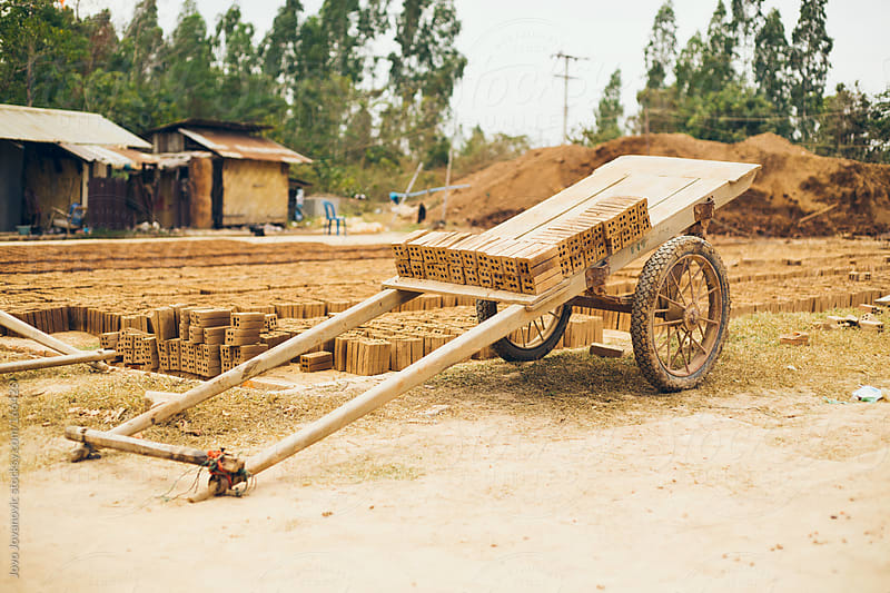 Brick factory in Laos by Jovo Jovanovic for Stocksy United
