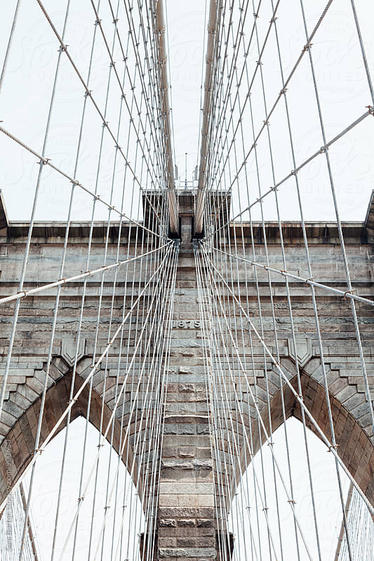 Brooklyn bridge by Sam Burton for Stocksy United