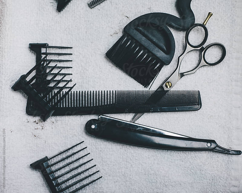 The tool of a barber by Ania Boniecka for Stocksy United