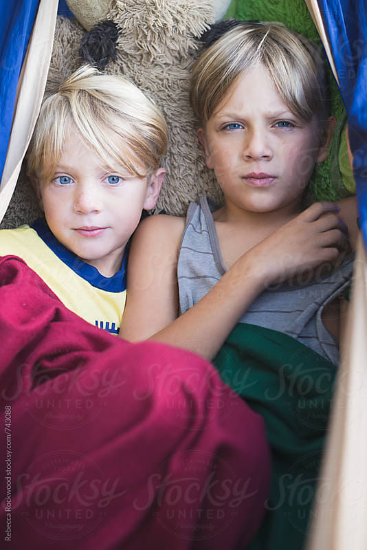 Brothers by Rebecca Rockwood for Stocksy United