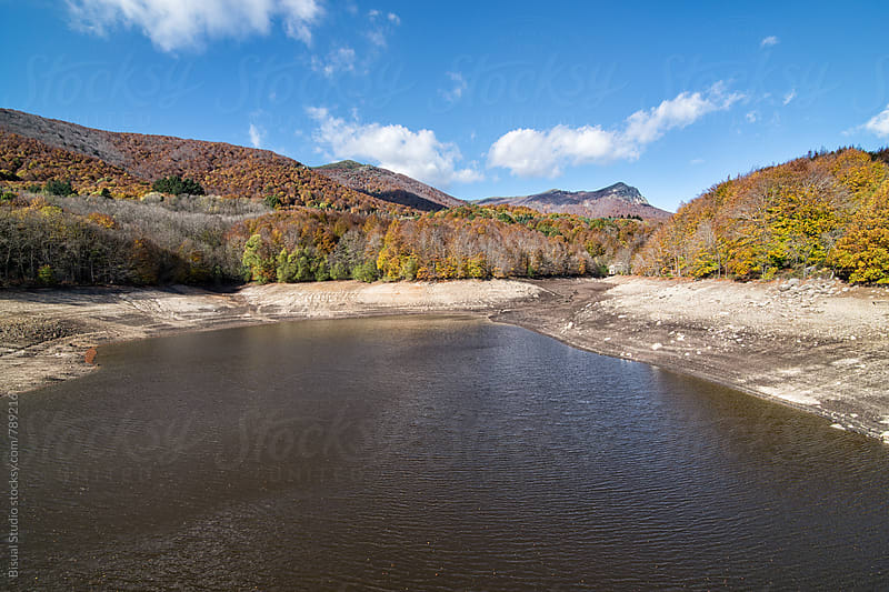 Santa Fe's reservoir in the Natural Park of Montseny, Catalonia by Bisual Studio for Stocksy United
