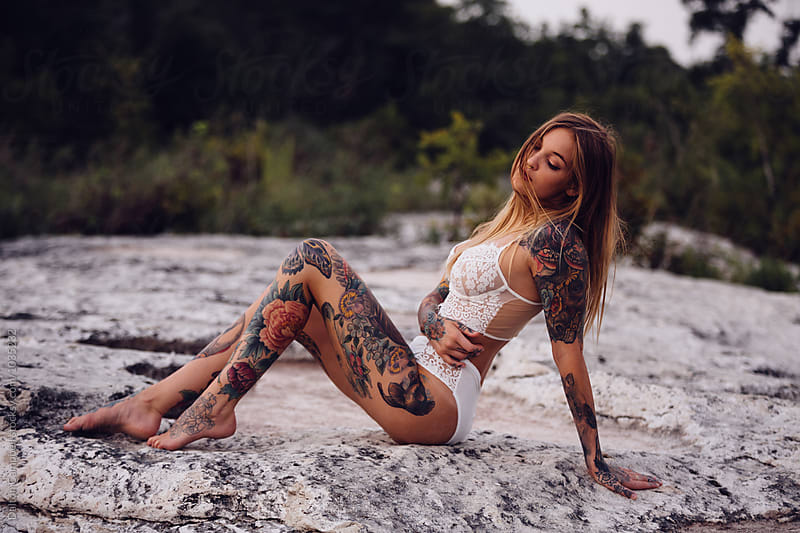 Tattooed Lady by Dalton Campbell for Stocksy United