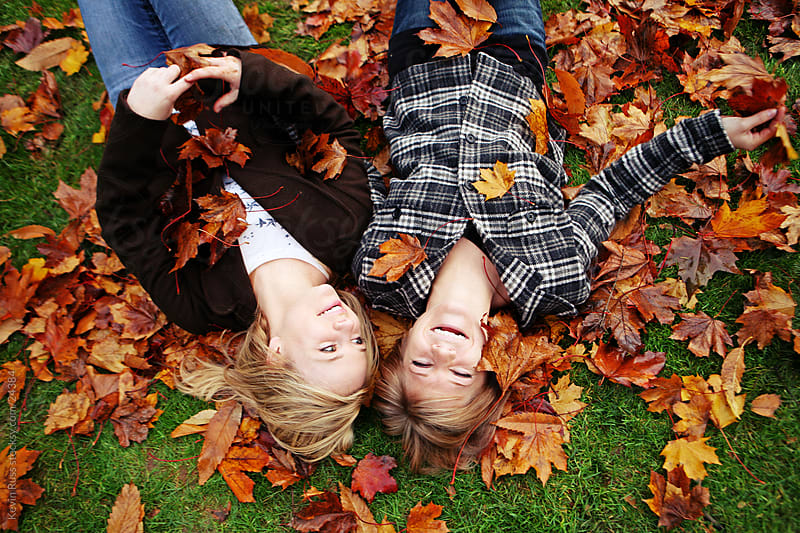Laughing Leaves Women by Kevin Russ for Stocksy United