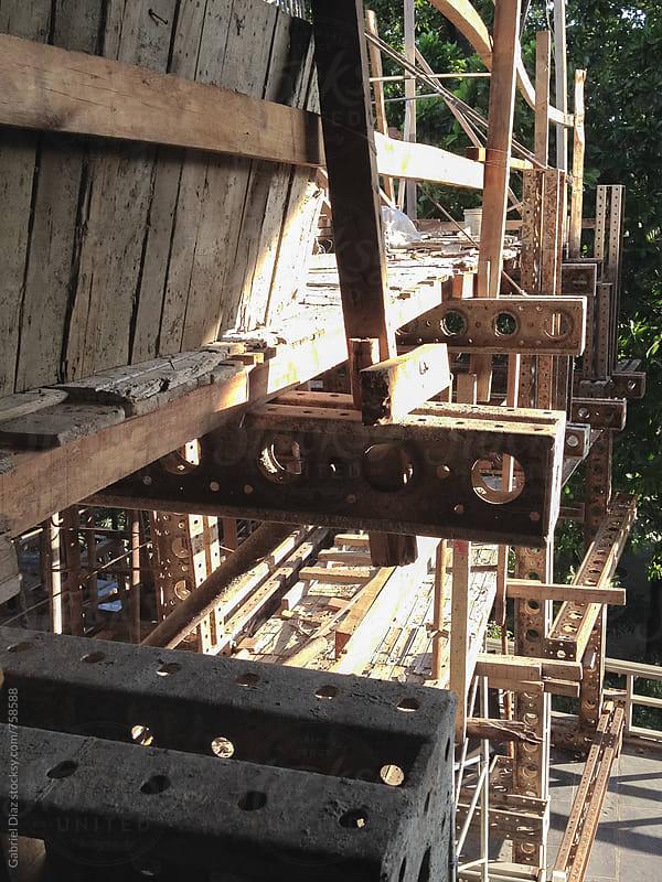 Construction work  by Gabriel Diaz for Stocksy United