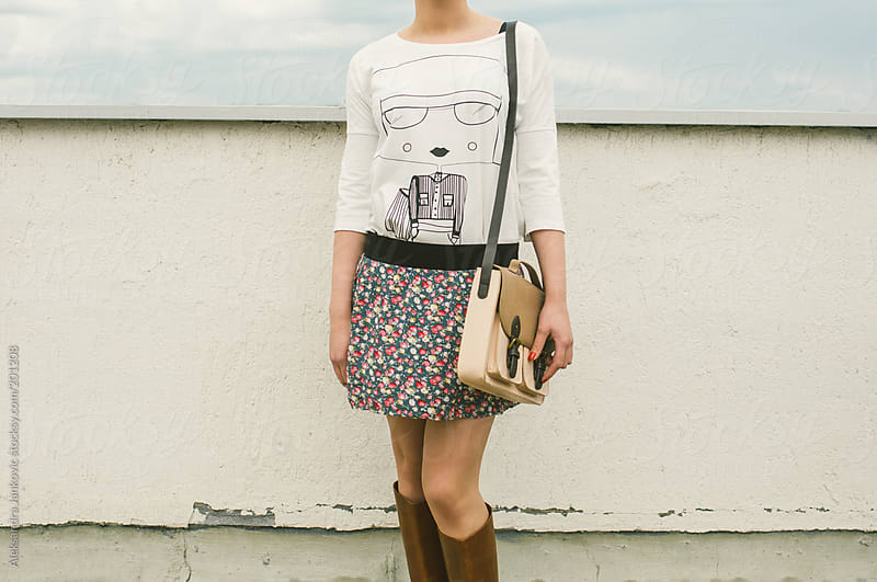 Outfit of a young  woman by Aleksandra Jankovic for Stocksy United