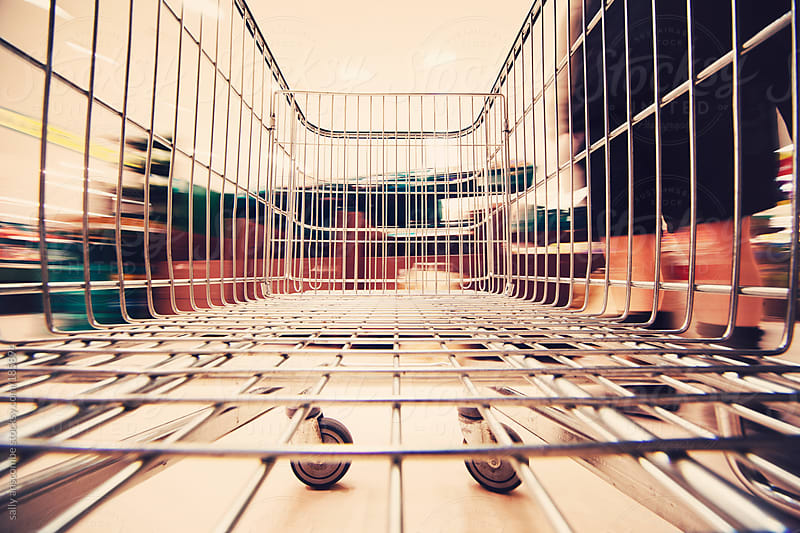 Shopping trolley by sally anscombe for Stocksy United