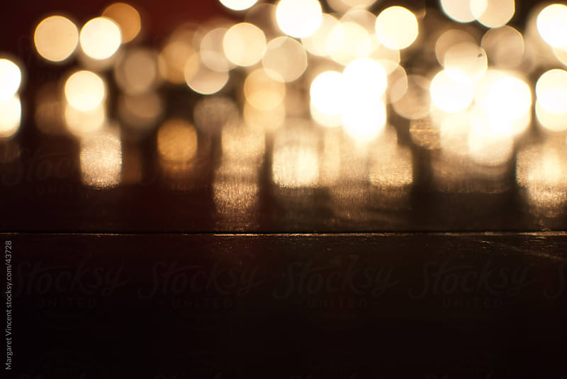 abstract composition of blurred lights by Margaret Vincent for Stocksy United