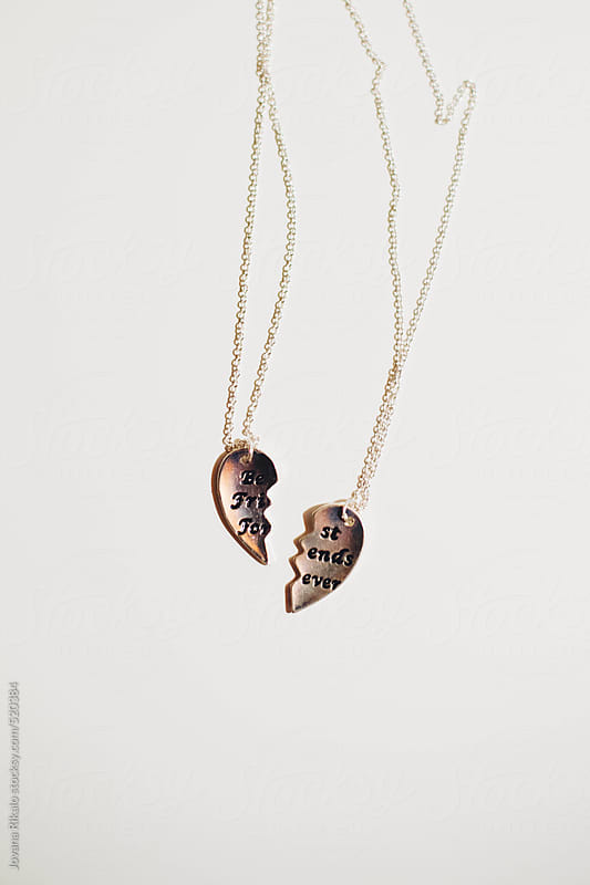 Best friends forever necklace by Jovana Rikalo for Stocksy United