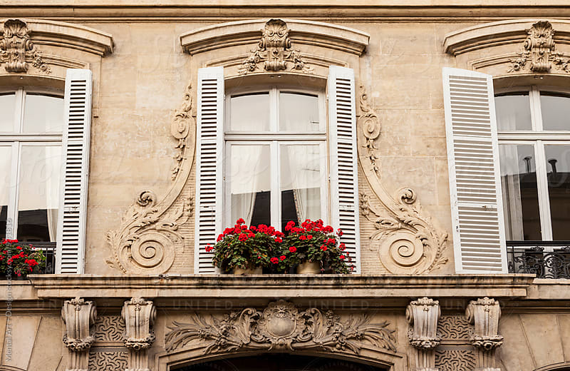 Paris Windows by Mental Art + Design for Stocksy United