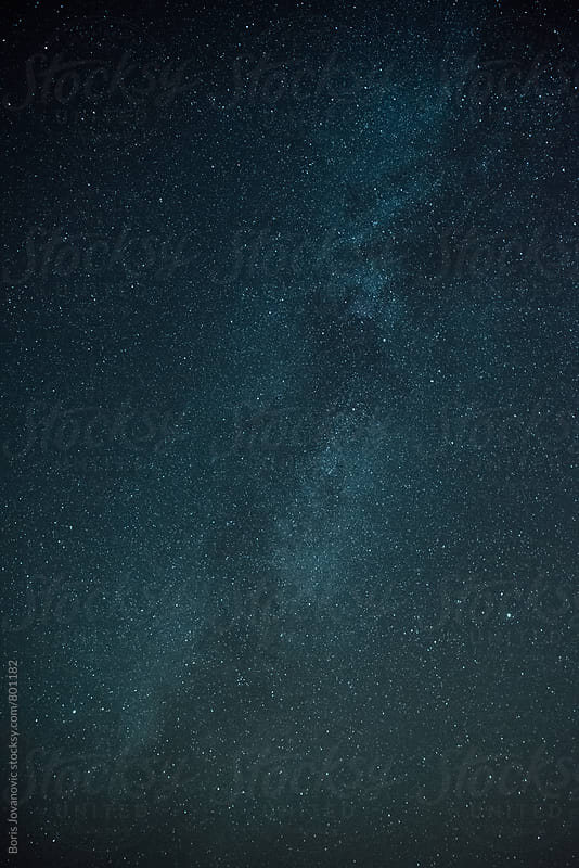 Milky way landscape  by Boris Jovanovic for Stocksy United