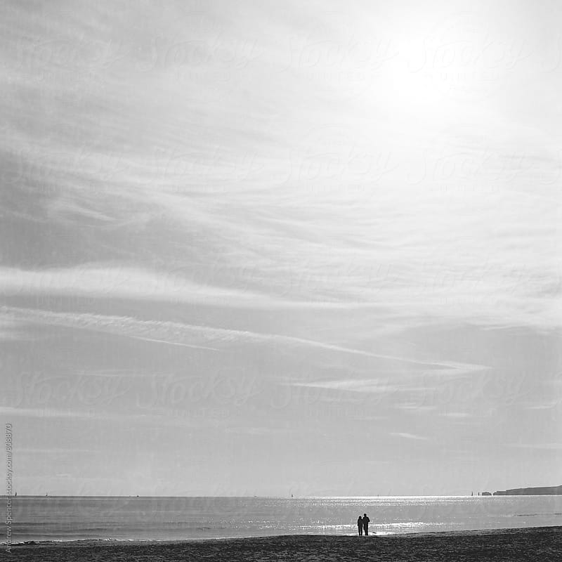 Couple admiring the view by Andrew Spencer for Stocksy United