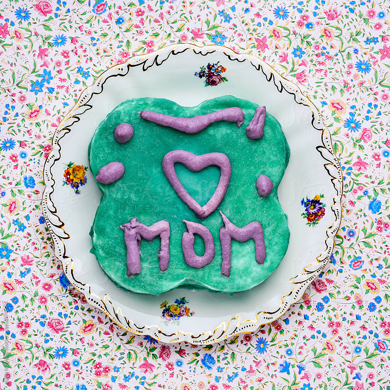I love mom by Juan Moyano for Stocksy United
