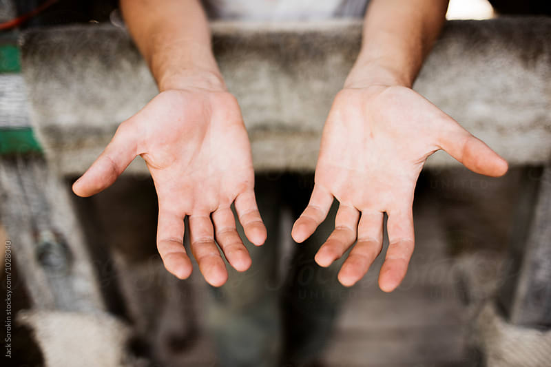 Farmer's Dirty Hands After Work by Jack Sorokin for Stocksy United