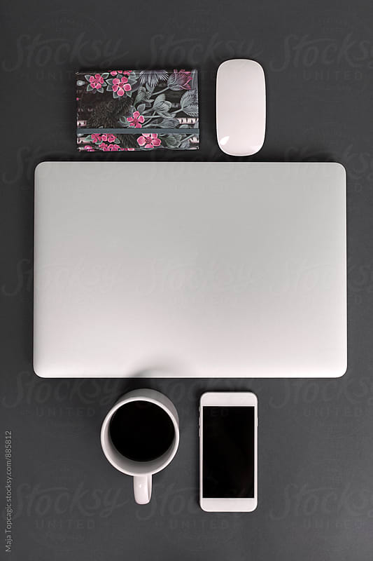 Working desk space by Maja Topcagic for Stocksy United
