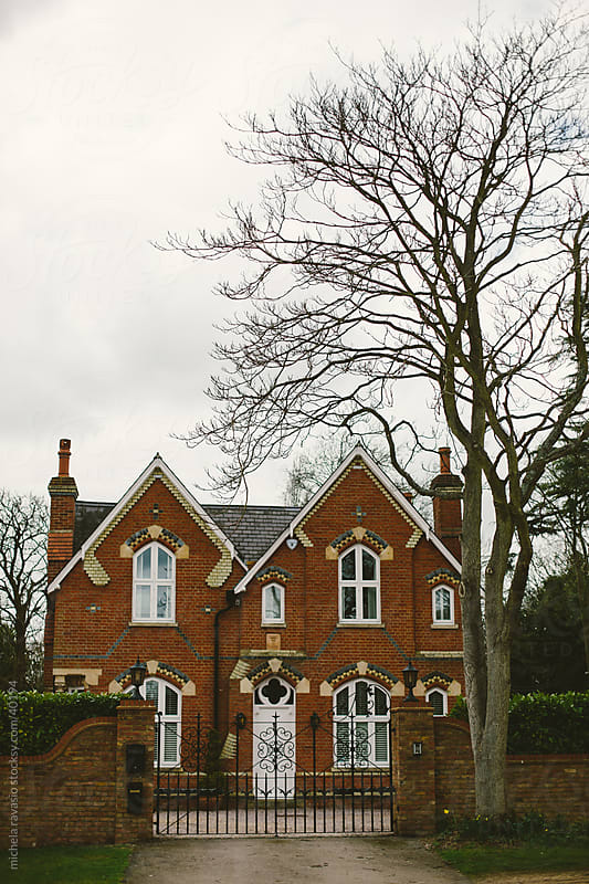 Typical English house in the countryside by michela ravasio for Stocksy United