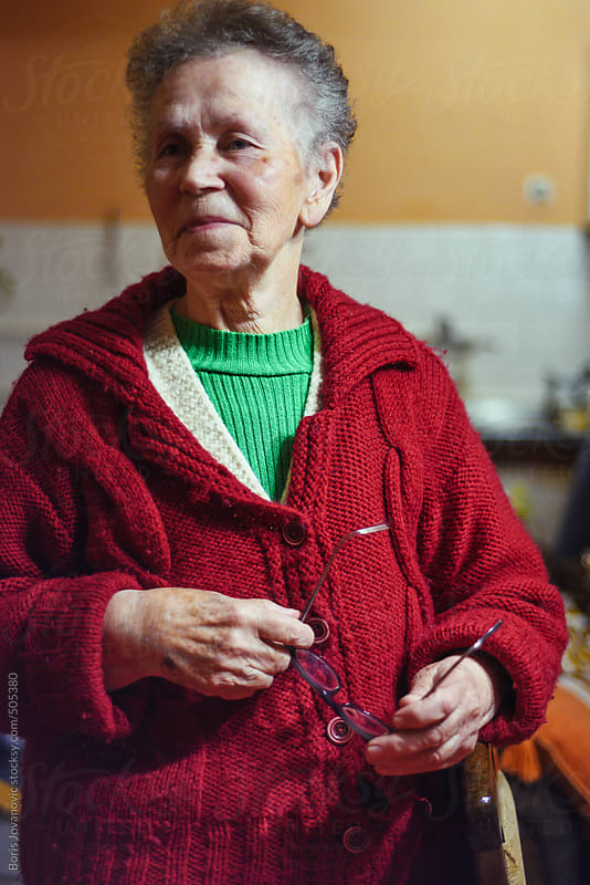 Portrait of senior woman by Boris Jovanovic for Stocksy United