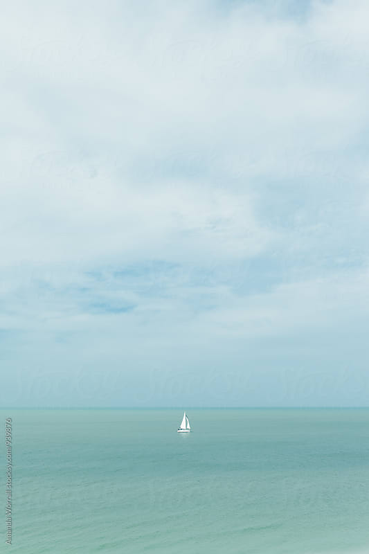 Come sail away by Amanda Worrall for Stocksy United