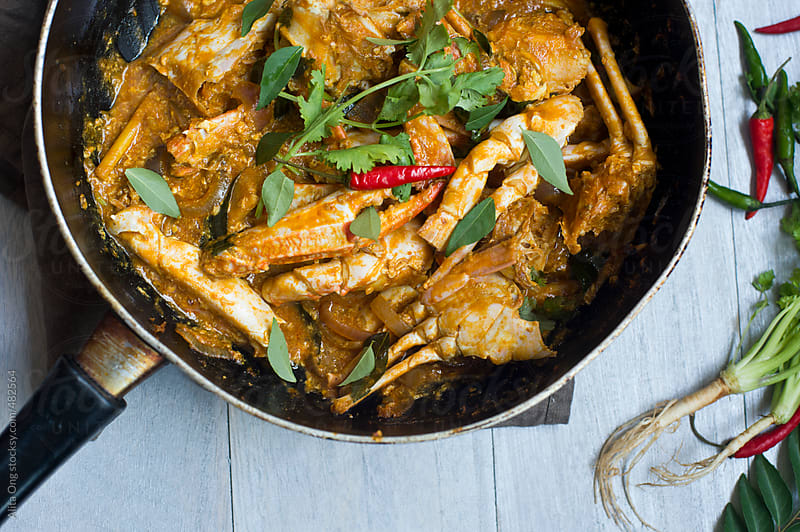 Curry crab by Alita Ong for Stocksy United