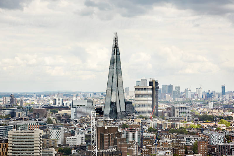 London skyline by James Ross for Stocksy United