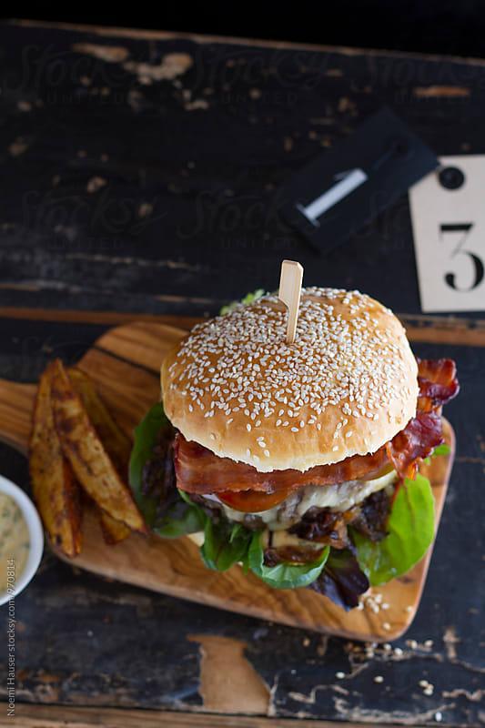 Hamburger by Noemi Hauser for Stocksy United