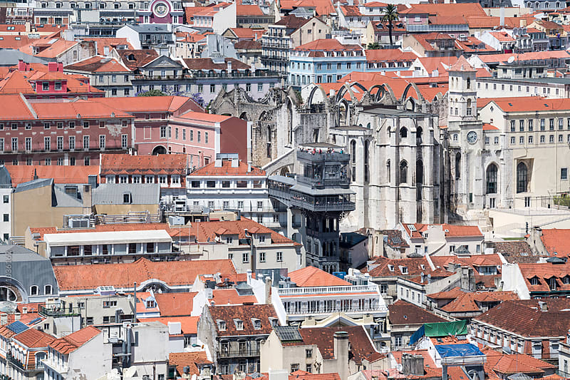 Lisbon close up  by James Tarry for Stocksy United
