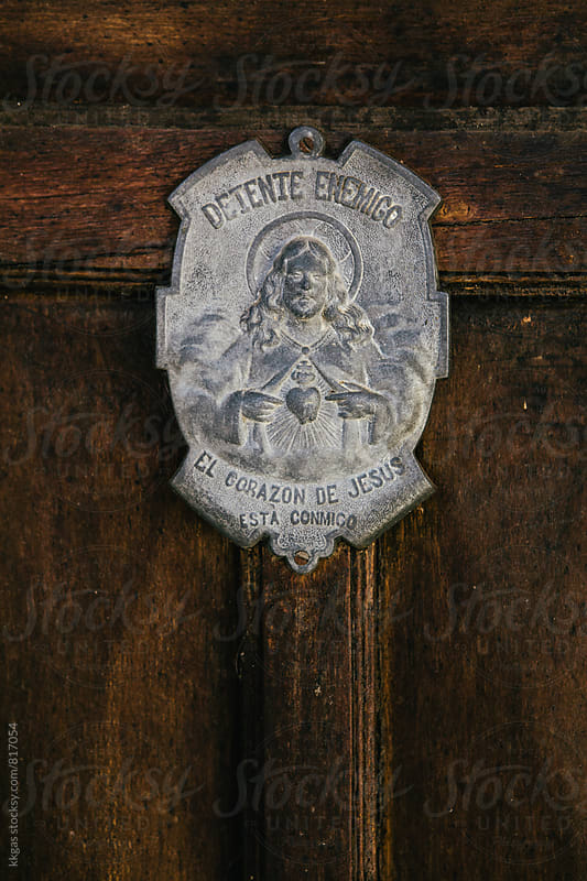 Wall plaque of Christ by kkgas for Stocksy United