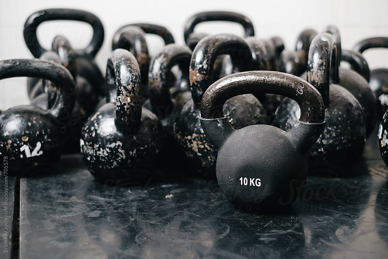 Kettlebells by Branislav Jovanović for Stocksy United