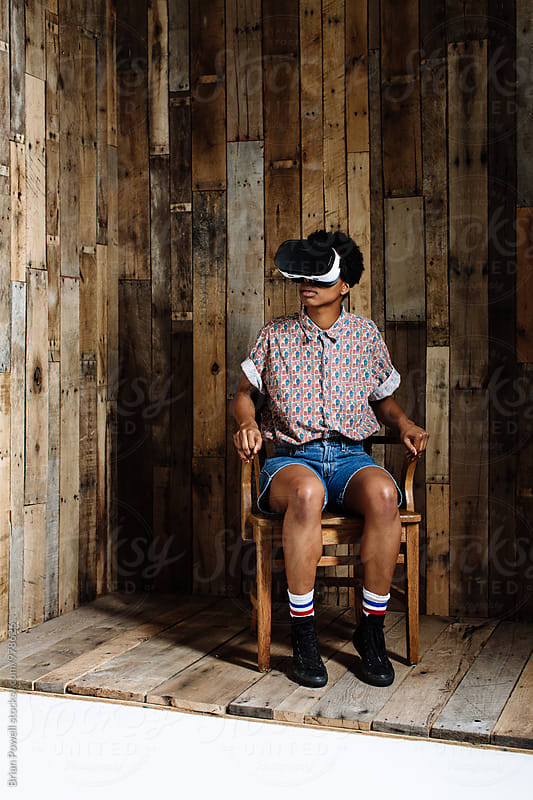virtual reality  by Brian Powell for Stocksy United