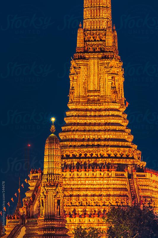 Wat Arun, Bangkok, Thailand by Tom Uhlenberg for Stocksy United