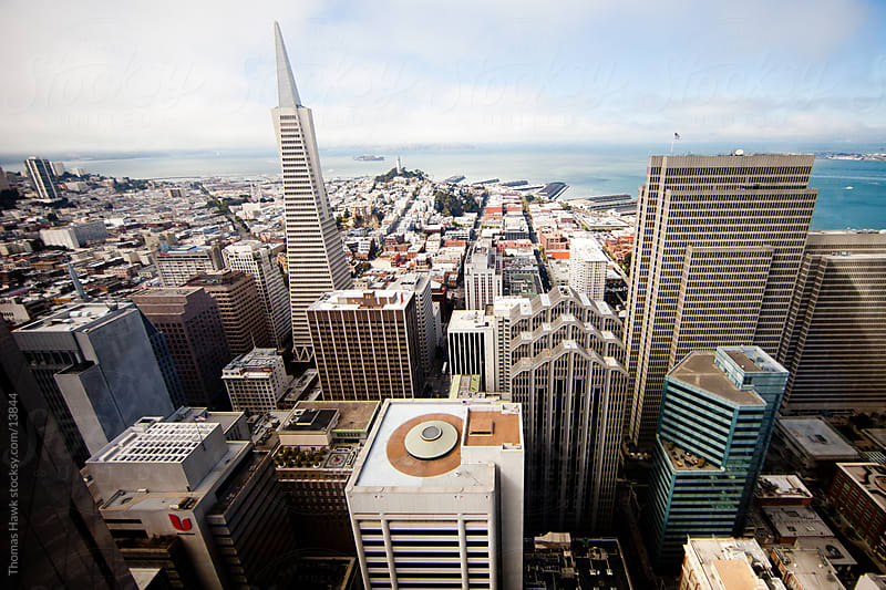 San Francisco cityscape by Thomas Hawk for Stocksy United